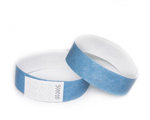 Blue бумажный браслет