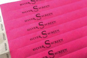бумажные браслеты/ленточки с печатью логотипа в минске