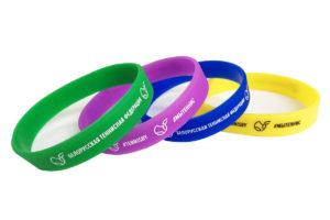 силиконовые резиновые браслеты купить заказать в минске